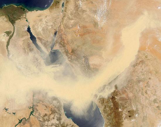 Αμμοθύελλες που προκαλούν δέος