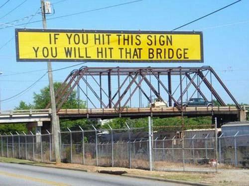 Αστείες και παράξενες πινακίδες (4)