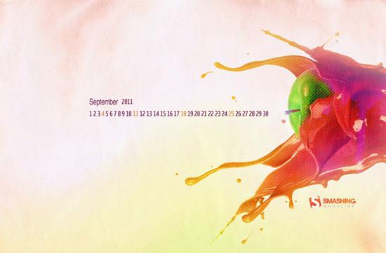 Wallpapers ημερολόγια Σεπτεμβρίου 2011 (2)