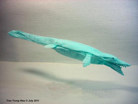 Δεινόσαυροι Origami (4)