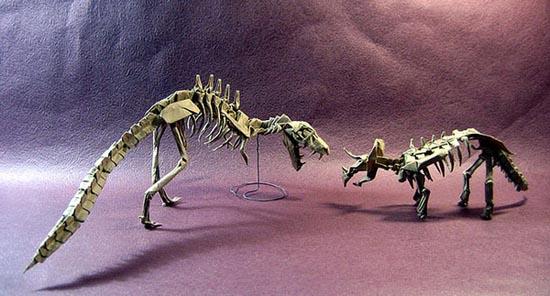Δεινόσαυροι Origami (5)