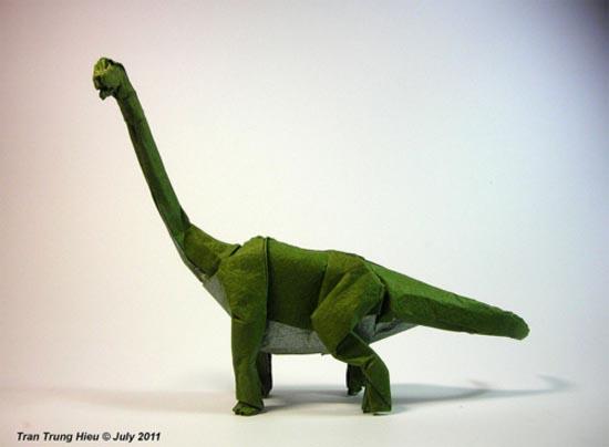 Δεινόσαυροι Origami (6)