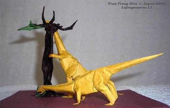 Δεινόσαυροι Origami (9)