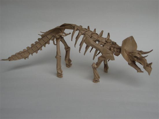 Δεινόσαυροι Origami (10)