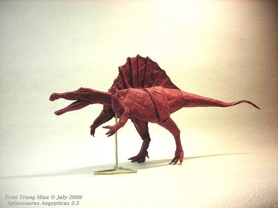 Δεινόσαυροι Origami (12)