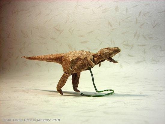 Δεινόσαυροι Origami (13)