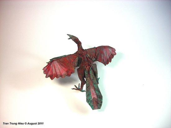 Δεινόσαυροι Origami (14)