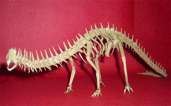 Δεινόσαυροι Origami (15)