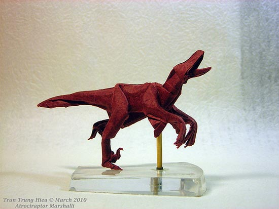 Δεινόσαυροι Origami (17)