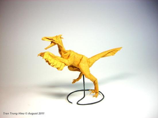 Δεινόσαυροι Origami (18)
