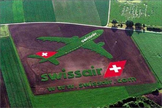 Διαφημίσεις με την μορφή αγρογλυφικών (1)