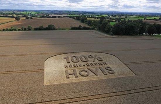 Διαφημίσεις με την μορφή αγρογλυφικών (6)