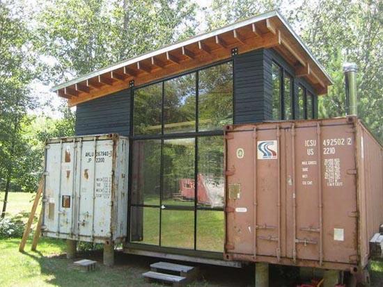 Εντυπωσιακές κατασκευές με containers (5)