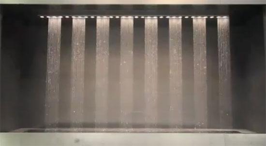Εντυπωσιακός «εκτυπωτής νερού»