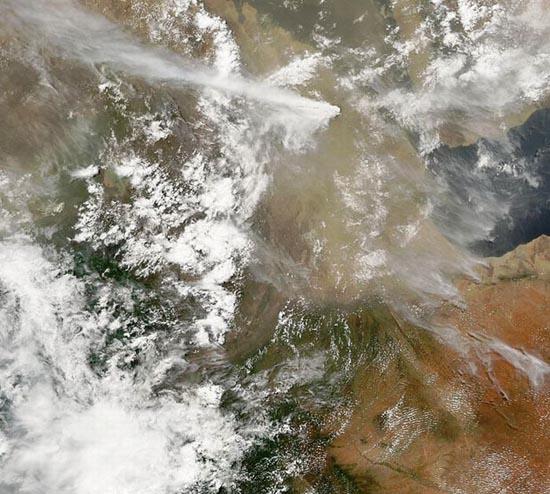 Εκπληκτικές φωτογραφίες ηφαιστείων από το διάστημα (26)