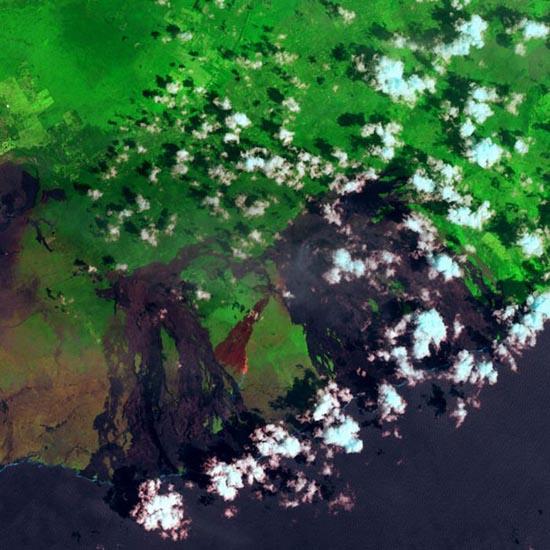 Εκπληκτικές φωτογραφίες ηφαιστείων από το διάστημα (25)