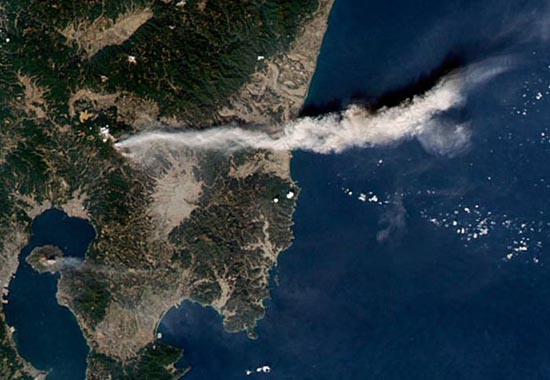 Εκπληκτικές φωτογραφίες ηφαιστείων από το διάστημα (8)