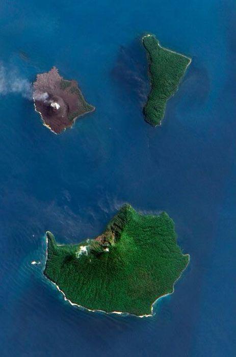 Εκπληκτικές φωτογραφίες ηφαιστείων από το διάστημα (5)