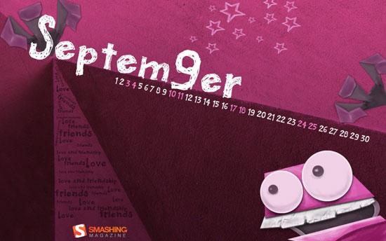 Wallpapers ημερολόγια Σεπτεμβρίου 2011 (3)