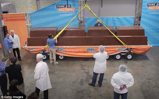 Σοκολάτα 5,5 τόνων, η μεγαλύτερη του κόσμου (5)