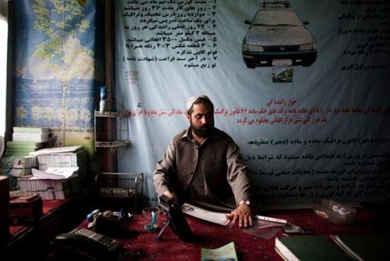 Παράξενη σχολή οδηγών στο Αφγανιστάν (1)