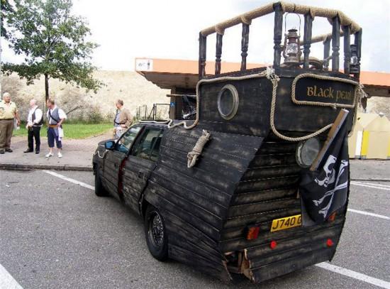 Φωτογραφία της ημέρας: Πειρατικό... αυτοκίνητο «Το Μαύρο Μαργαριτάρι»