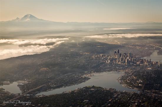 Φωτογραφία της ημέρας: Το Seattle από ψηλά