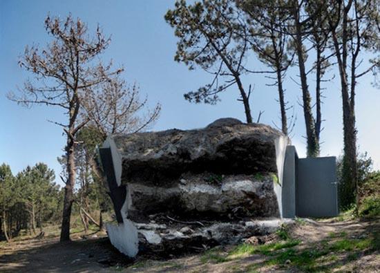 Σπίτι εμπνευσμένο από σπηλιά (2)