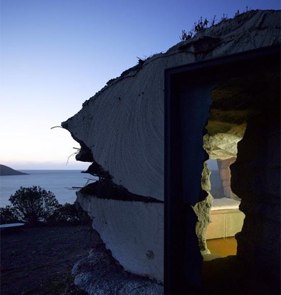 Σπίτι εμπνευσμένο από σπηλιά (10)