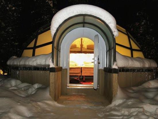 Απολαύστε το Βόρειο Σέλας στο χωριό των γυάλινων Igloo (5)