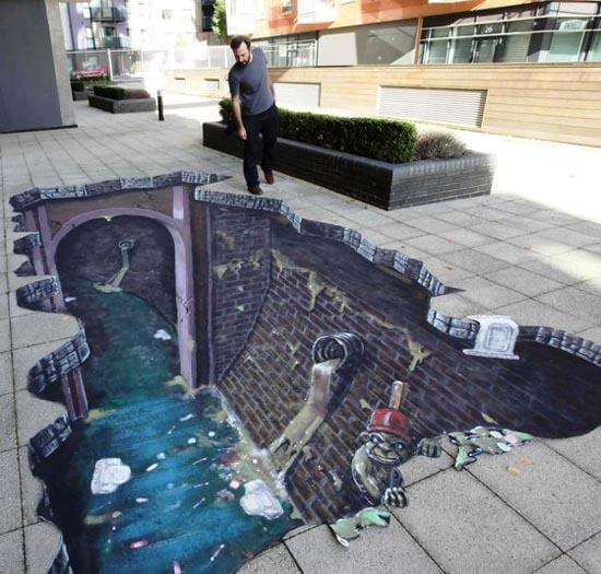 3D Ζωγραφιές στο δρόμο (5)
