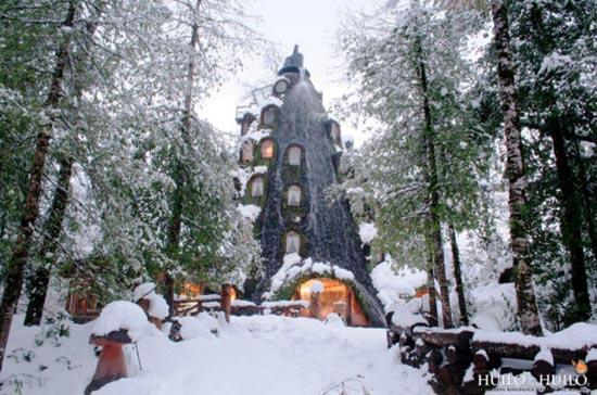 """Απίθανο ξενοδοχείο """"Magic Mountain"""" στη Χιλή (5)"""