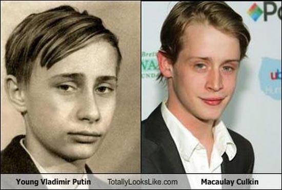 Διάσημοι που μοιάζουν μεταξύ τους (1)