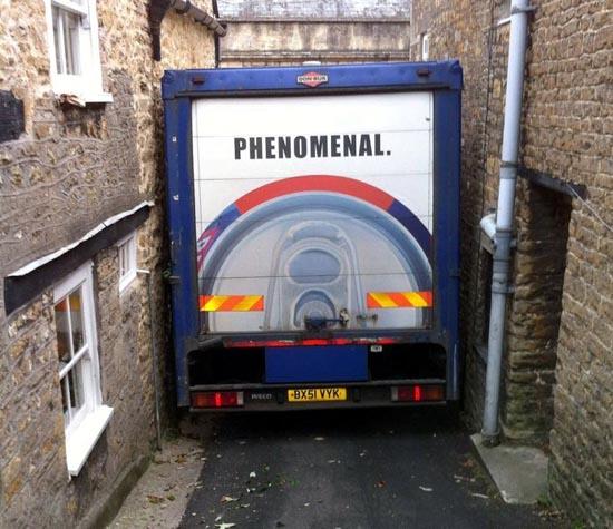 Επική γκάφα οδηγού φορτηγού (2)