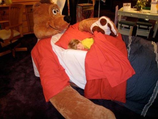 Παράξενα και μοναδικά κρεβάτια (14)