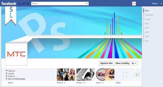 Εντυπωσιακά Facebook Profiles