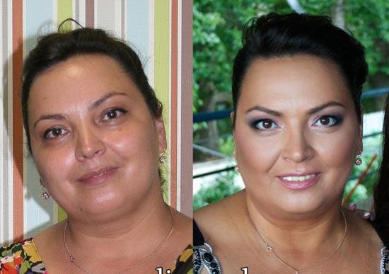 Γυναίκες με / χωρίς μακιγιάζ (11)