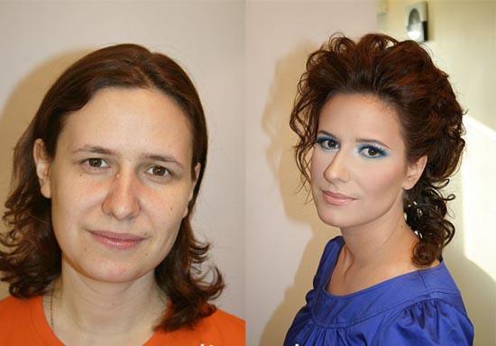Γυναίκες με / χωρίς μακιγιάζ (16)