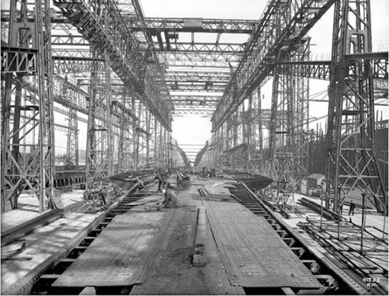 Η κατασκευή του Τιτανικού σε σπάνιες φωτογραφίες (1)