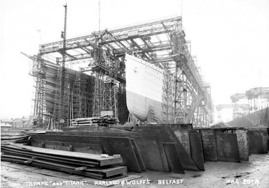 Η κατασκευή του Τιτανικού σε σπάνιες φωτογραφίες (2)