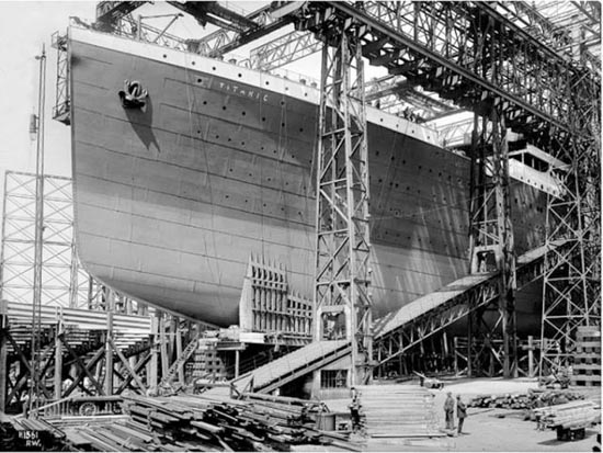 Η κατασκευή του Τιτανικού σε σπάνιες φωτογραφίες (3)