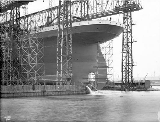 Η κατασκευή του Τιτανικού σε σπάνιες φωτογραφίες (4)