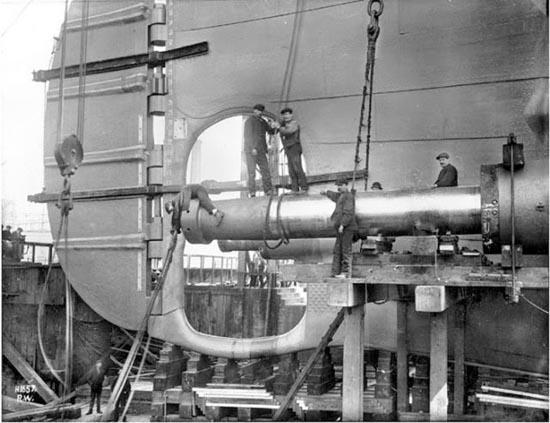 Η κατασκευή του Τιτανικού σε σπάνιες φωτογραφίες (5)