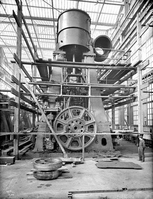 Η κατασκευή του Τιτανικού σε σπάνιες φωτογραφίες (6)