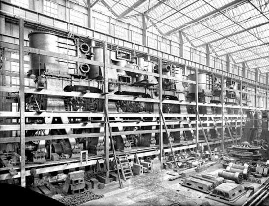 Η κατασκευή του Τιτανικού σε σπάνιες φωτογραφίες (7)