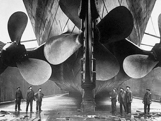 Η κατασκευή του Τιτανικού σε σπάνιες φωτογραφίες (9)