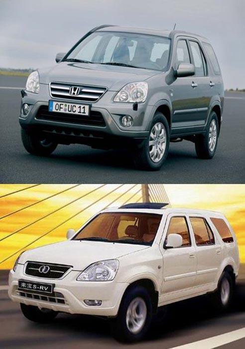 Κινέζικες απομίμησεις γνωστών αυτοκινήτων (6)