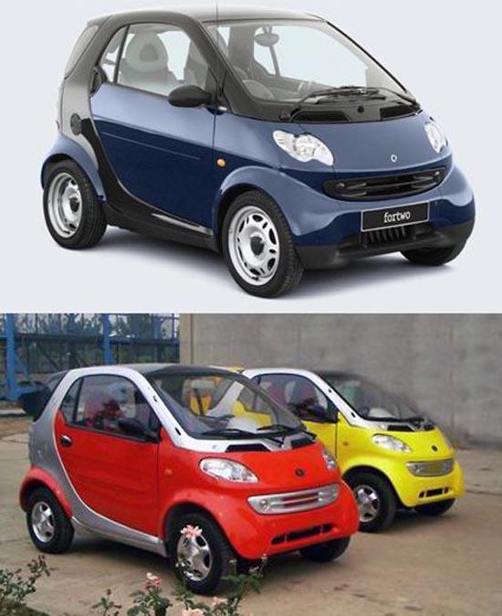 Κινέζικες απομίμησεις γνωστών αυτοκινήτων (7)