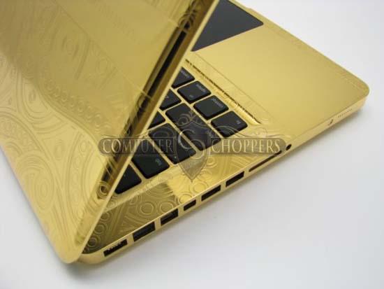 MacBook Pro από χρυσό και διαμάντια 24 καρατίων (4)
