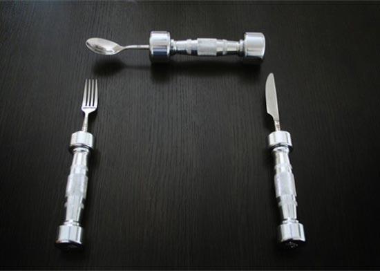 Μαχαιροπήρουνα - βαράκια για γυμναστική (2)